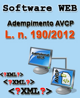 Software Web AVCP 190/2012 - ICT Global Service S.r.l.